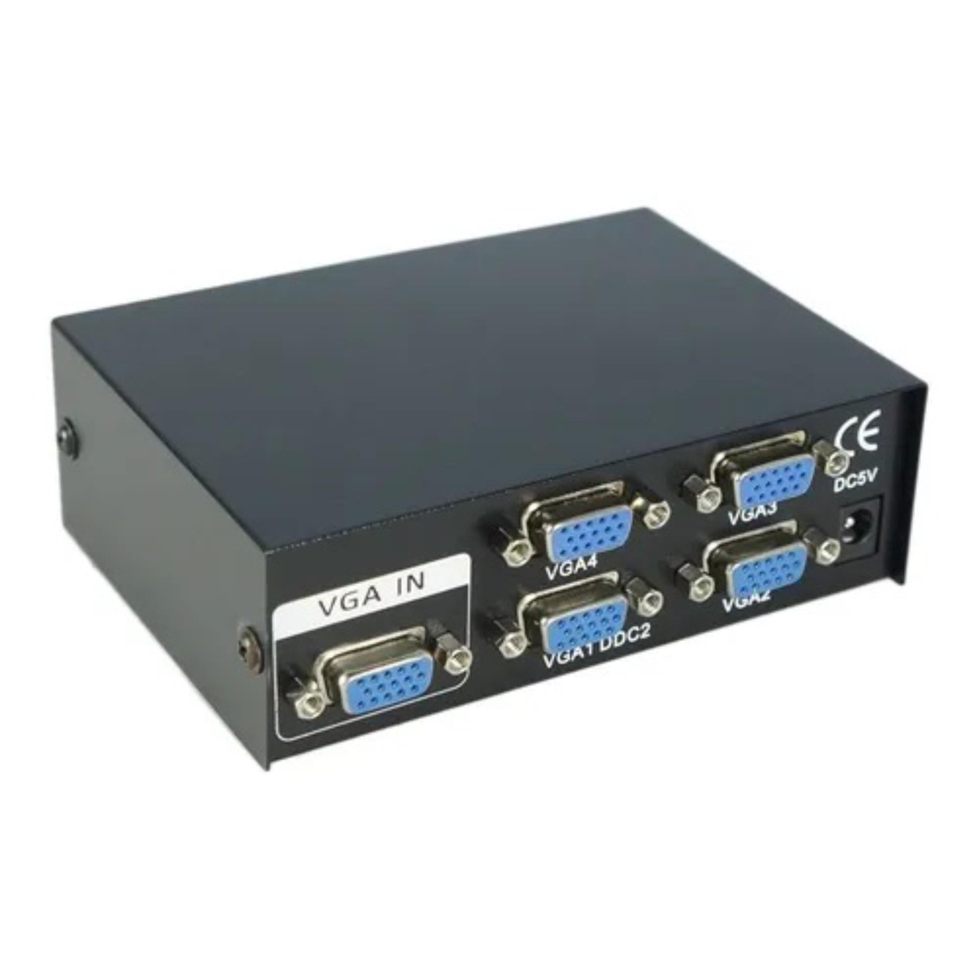 Splitter VGA 4 Portas 150 Mhz Resolução 1920 X1440