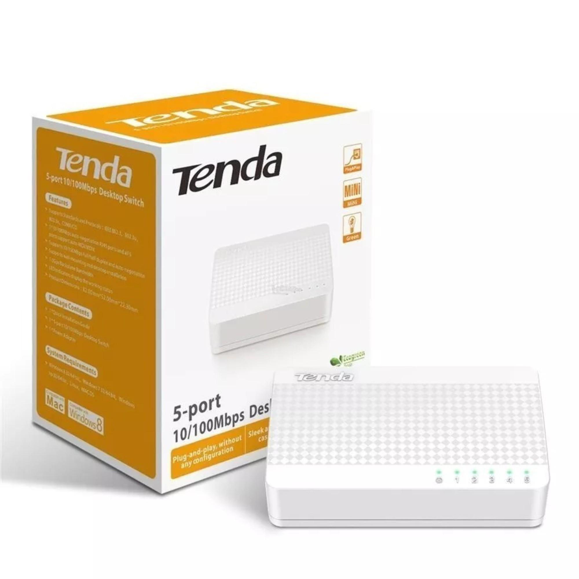 Switch 5 Portas Tenda 10/100