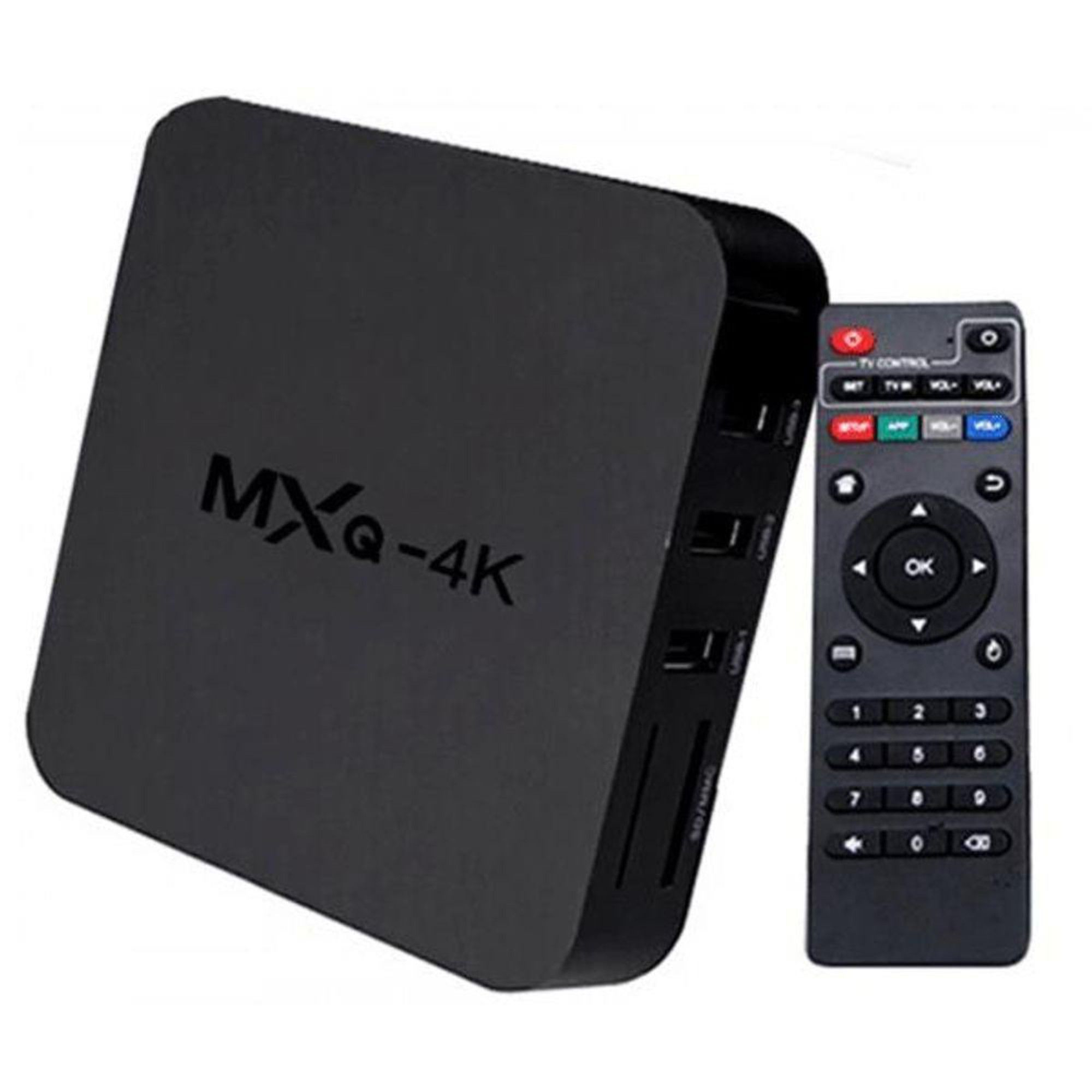 Tv Box 4k MXQ Pro 64 Gb de Memória Interna + 4 GB de Ram Android 10.1