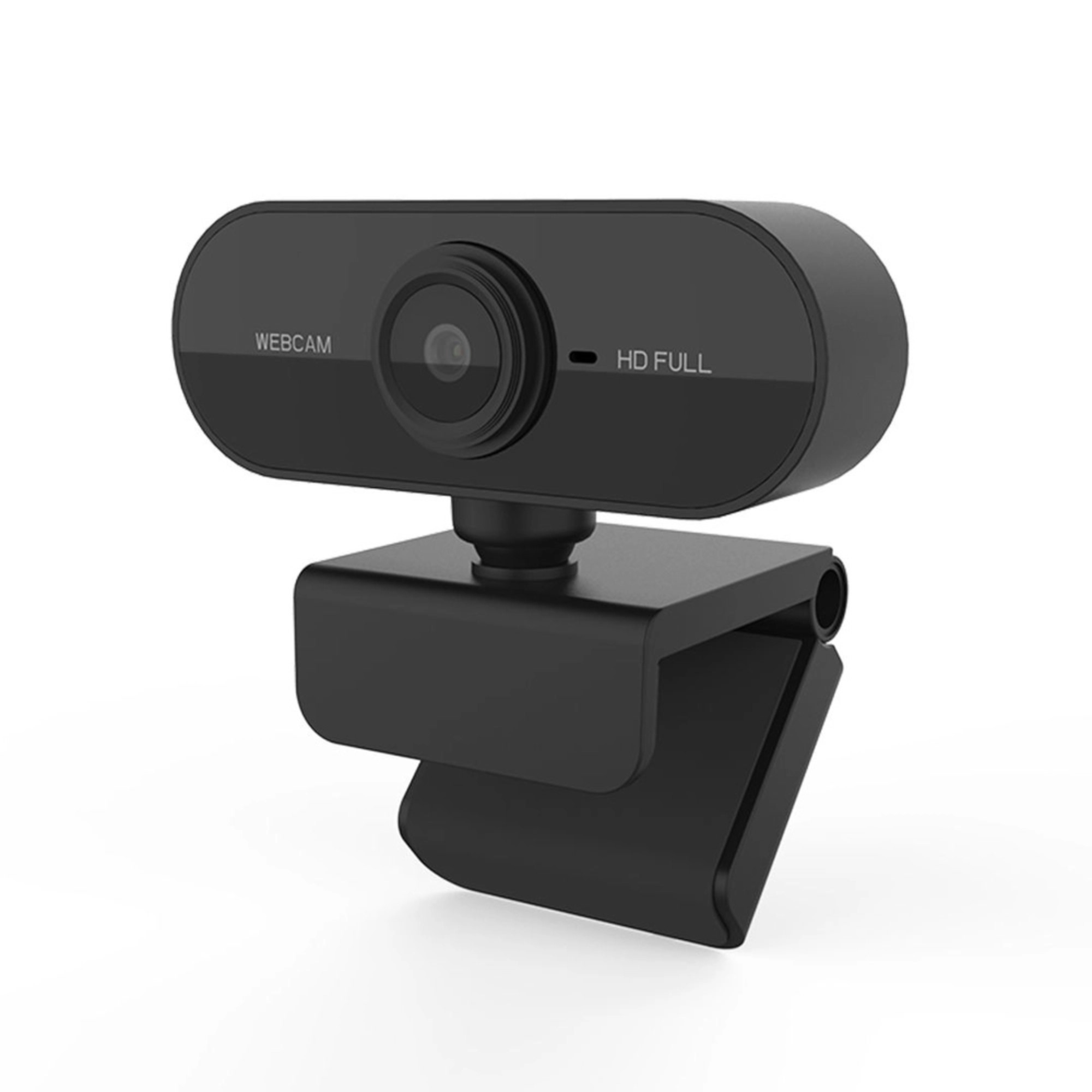 Webcam Full HD 1080 USB Mini Câmera De Visão 360º Microfone