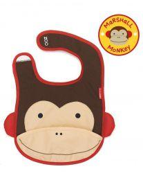 Babador Macaco Skip Hop - Coleção Zoo