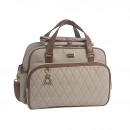 Bolsa Maternidade Chicago Just Baby Bege