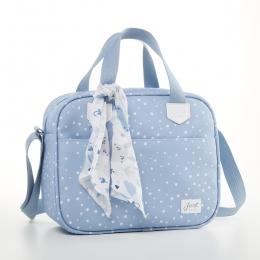 Frasqueira Térmica Bebê Bunny Azul - Just Baby