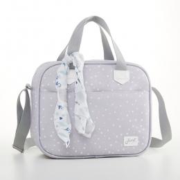 Frasqueira Térmica Bebê Bunny Cinza - Just Baby