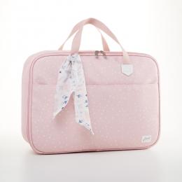 Mala Maternidade Bebê Bunny Rosa - Just Baby