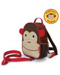 Mochila com Cinto Macaco Skip Hop - Coleção Zoo