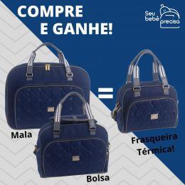 Promoção Kit Mala + Bolsa Maternidade = Ganhe Frasqueira Térmica Monterey Just Baby