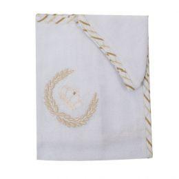 Toalha de Ombro Coroa Ramos - 2 pçs - Just Baby