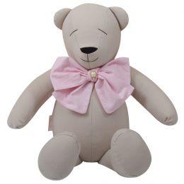 Urso Decorativo P Coração - Just Baby