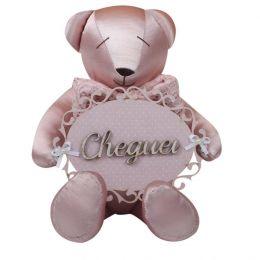 Urso Maternidade Rosa - Just Baby