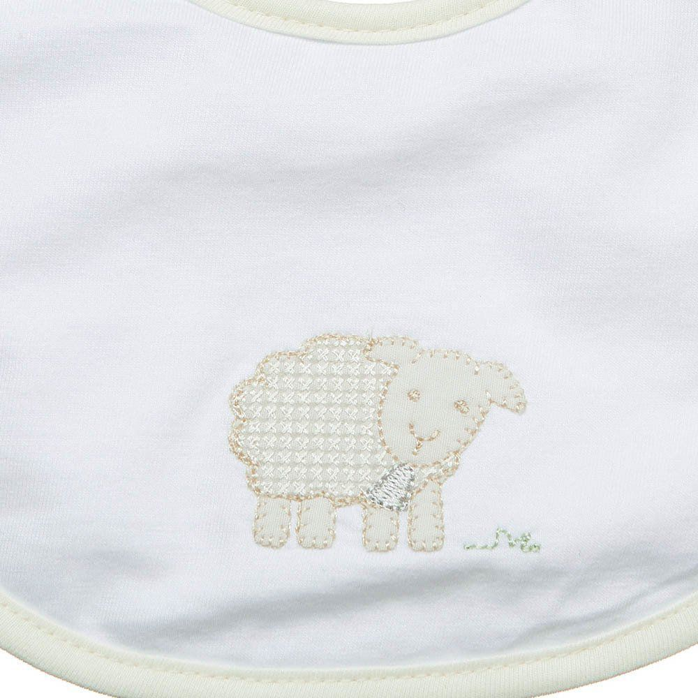 Babeiro P Malha Impermeável Ovelhas Just Baby