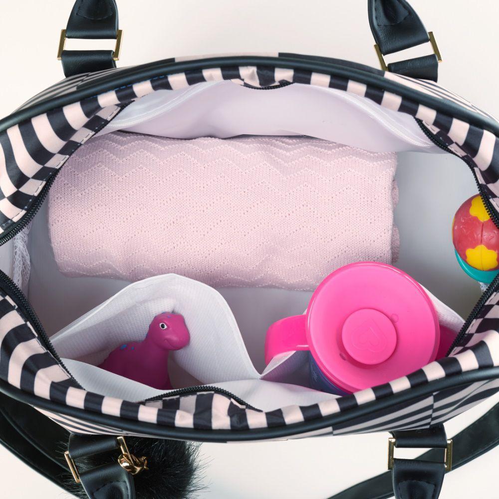Bolsa Maternidade Bebê Vivara Preto - Just Baby