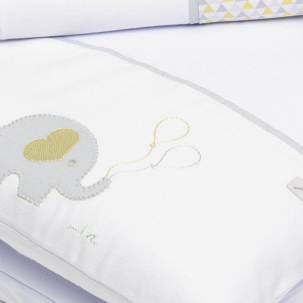 Colchonete de Carrinho Elefante 3 pçs Just Baby