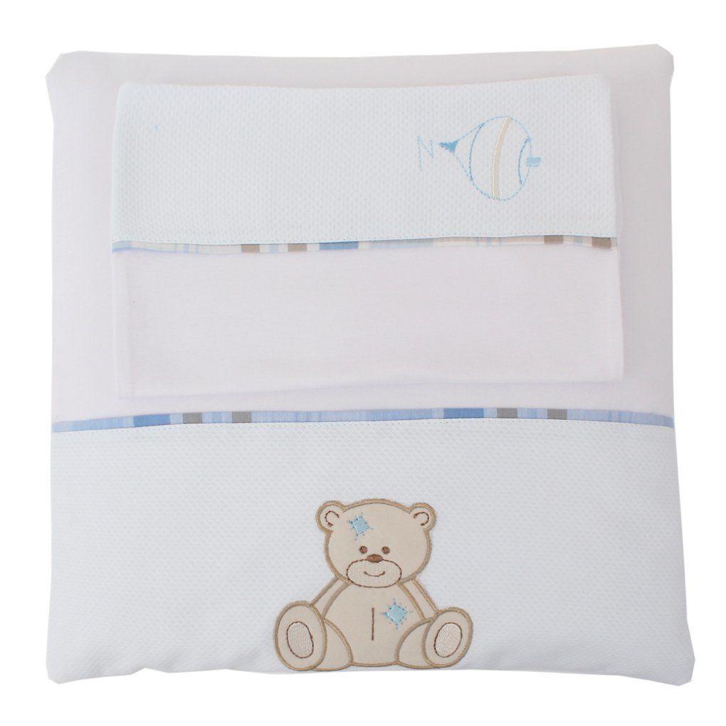 Colchonete de Carrinho Urso - 3 pçs - Just Baby