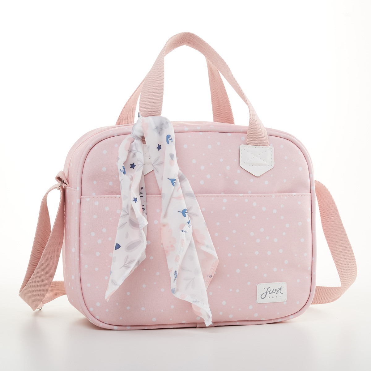 Frasqueira Térmica Bebê Bunny Rosa - Just Baby