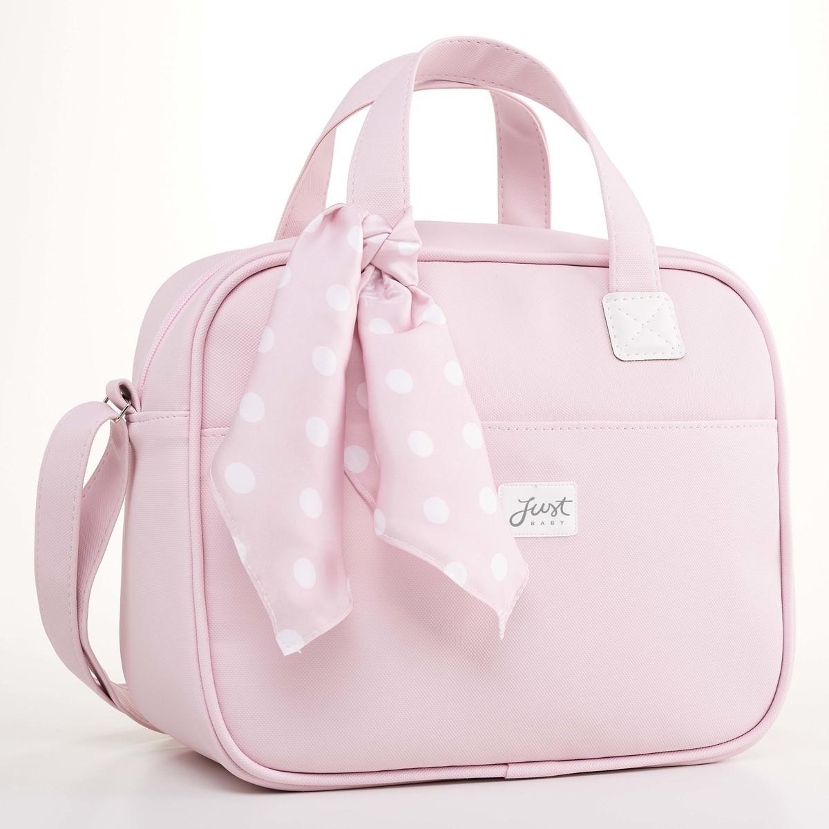Frasqueira Térmica Bebê Candy Rosa - Just Baby