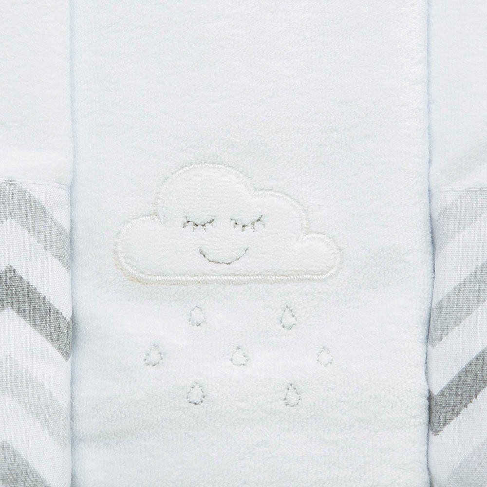 Kit Paninho de Boca Atoalhada c/3 Nuvem Just Baby