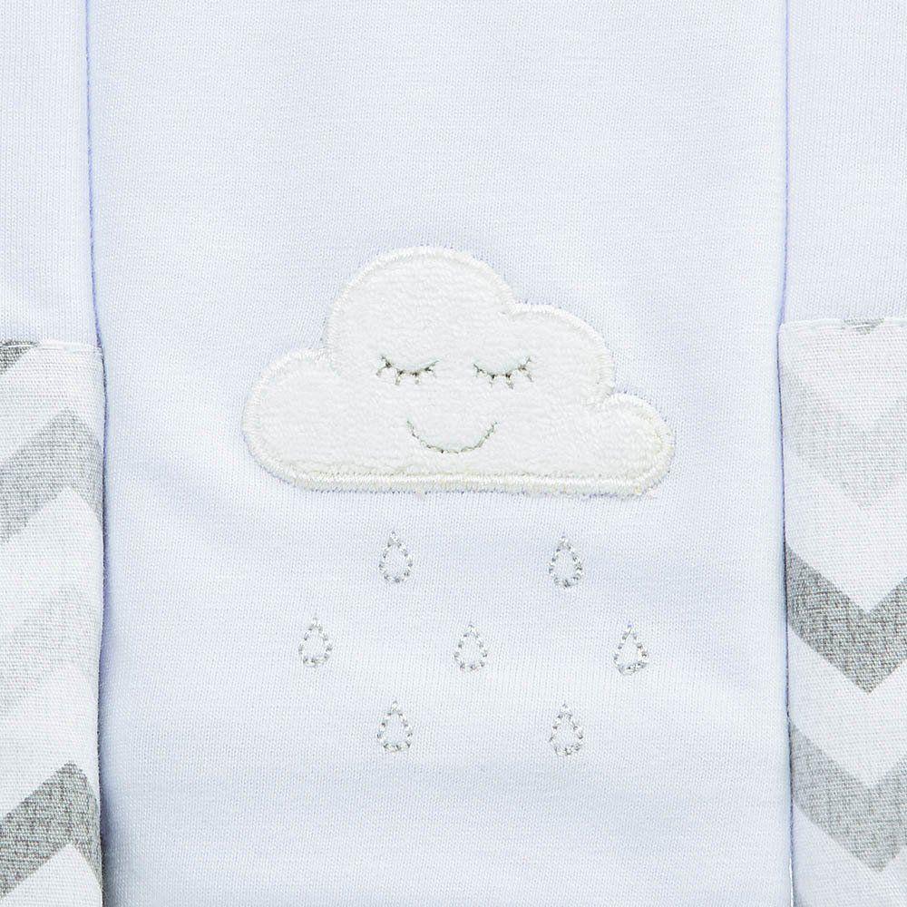 Kit Paninho de Boca Malha c/3 Nuvem Just Baby