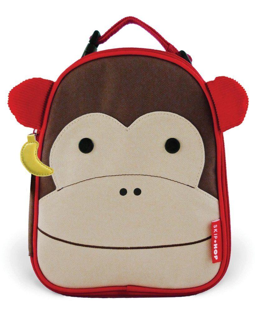 Lancheira Térmica Macaco Skip Hop - Coleção Zoo