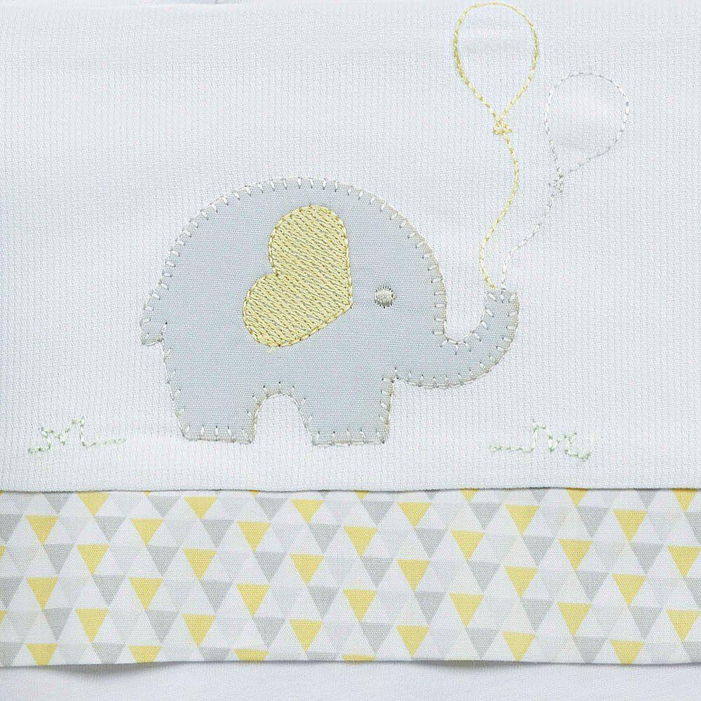 Lençol de Carrinho Elefante 3 pçs Just Baby