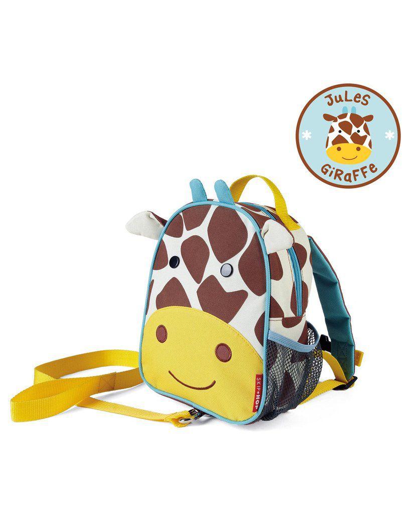 Mochila com Cinto Girafa Skip Hop - Coleção Zoo
