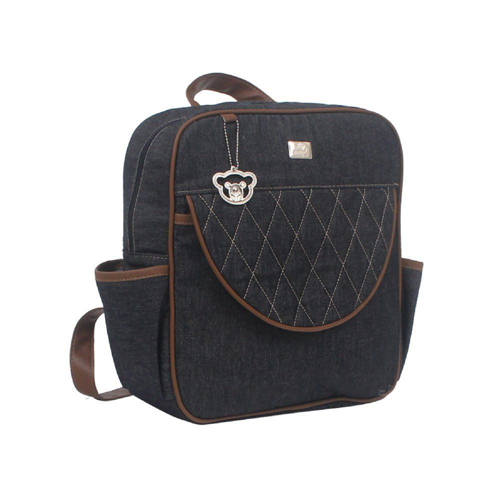 Mochila Denim Hey Baby Jeans