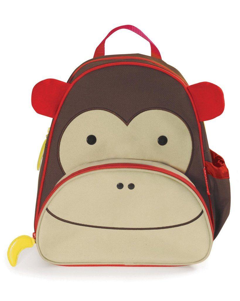 Mochila Macaco Skip Hop - Coleção Zoo