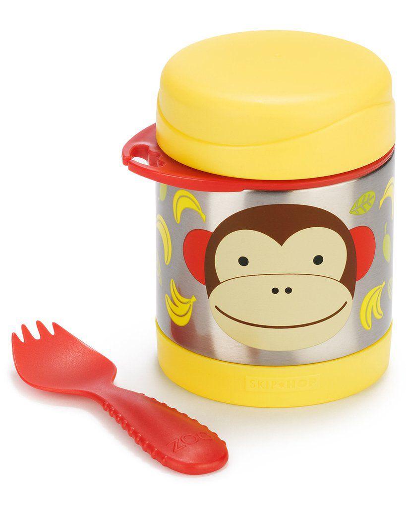 Pote Térmico Macaco Skip Hop - Coleção Zoo
