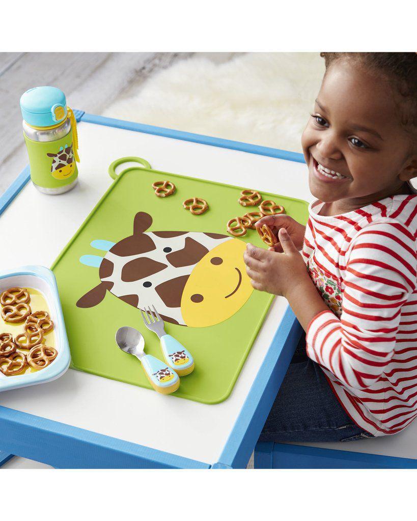 Talheres Girafa Skip Hop - Coleção Zoo