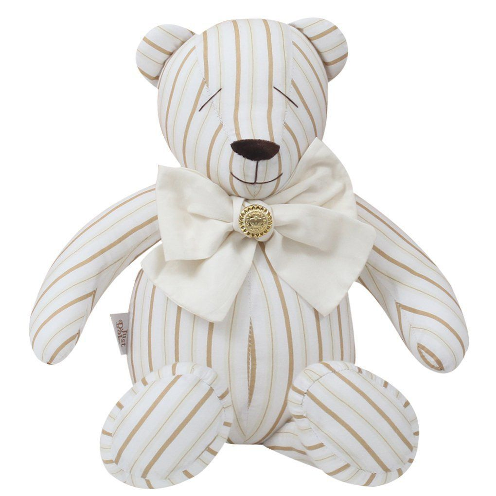 Urso Decorativo M Coroa Ramos - Just Baby