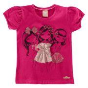 Blusa Infantil Feminina Verão Colorittá C17601*