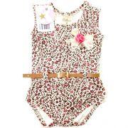 Body Infantil Feminino Oncinha Kidin´s KD9017