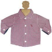 Body Infantil Masculino Camisa Xadrez Kidin´s KD8103*