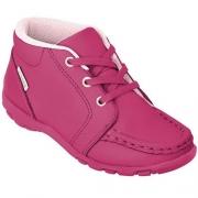 Bota Cano Baixo Ortopé Estilo Pink Infantil Menina