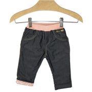 Calça Infantil Menina Meu Primeiro Jeans Kidin´s KD4464*