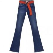 Calça Jeans Com Elastano Boot Cut Malibu Feminina Lez a Lez