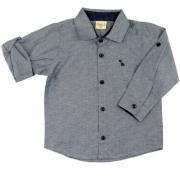 Camisa Infantil Menino Kidin´s Manga Longa KD8117