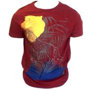 Camiseta Acostamento Masculina Manga Curta -