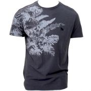 Camiseta Acostamento Masculino Manga Curta Estampada -