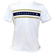 Camiseta Básica Estampada Masculina Acostamento