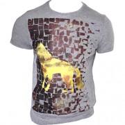 Camiseta Estampada Acostamento Masculina 2024