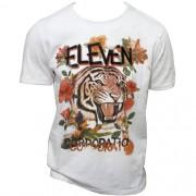 Camiseta Estampada Eleven Masculina Branca 021860