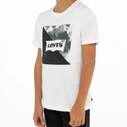 Camiseta Infantil Logo Camuflada Levi's 0112