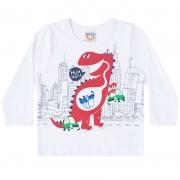 Camiseta Infantil Masculino Manga Longa Boca Grande 14371