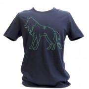 Camiseta Masculina Acostamento Manga Curta Bordada -