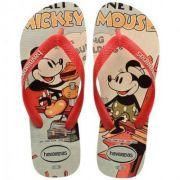 Chinelo Infantil Feminino Disney Stylish Bege H4123500*