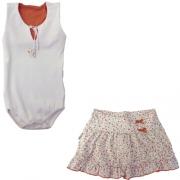 Conjunto Infantil Menina Body e Saia Ki-Baby 10371