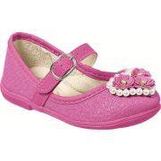 Sapatilha Infantil Feminina Boneca Pink Mimopé MP001.081.007*