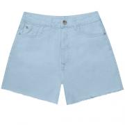 Shorts Sarja Azul Momento Feminino Lez a Lez 2262