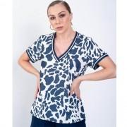 T-shirt Feminina Richini Estampada com Ribana 3.2492